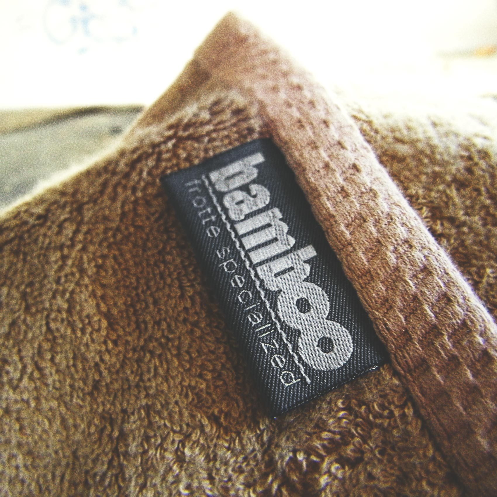 bamboo label